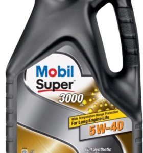 Mobil Super 3000 x1 5w-40.
