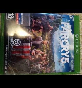 Продам Far Cry 5 на Xbox one