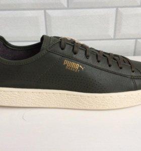 Кожаные кроссовки Puma Basket Classic Soft р.43