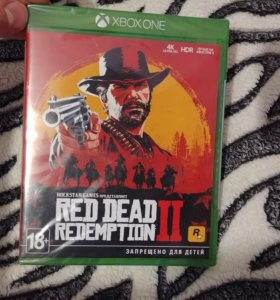 Новая в пленках Red Dead Redemption 2 Xbox One