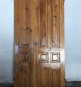 Двери из цельной сосны