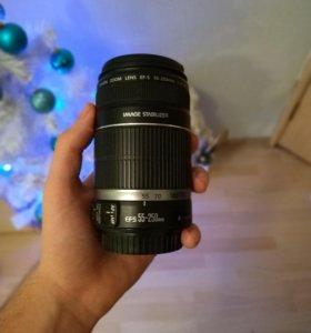 Объектив Canon EFS 55-250mm f/4-5.6 IS