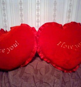 Подушки сердце