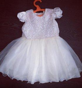 Платье 98- 104