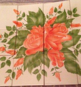 Декор керамика Роза
