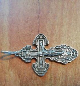 Крест серебро 925пр.