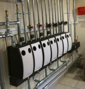 Отопление, водоснабжение, канализация для дома