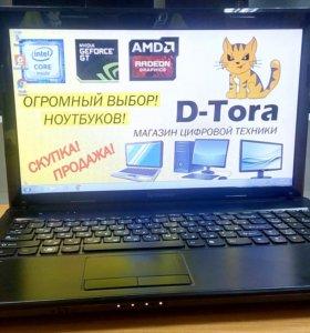Ноутбук Lenovo на AMD 2 ядра и Видео от AMD