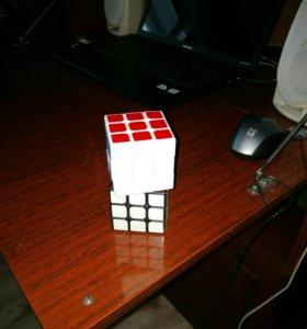 Обучение сборки кубика Рубика