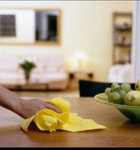 Уборка квартир.Приемлемые цены .