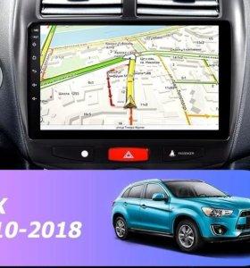 Магнитола Mitsubishi ASX, Android, WiFi, GPS