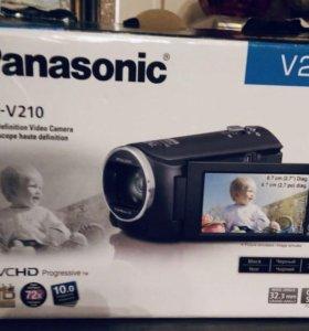 Цифровая видеокамера PANASONIC HC-V210 black