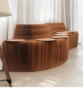 Уникальный диван-гармошка