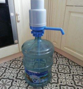 Помпа для воды Dolphin 8080 + бутылка 19 л