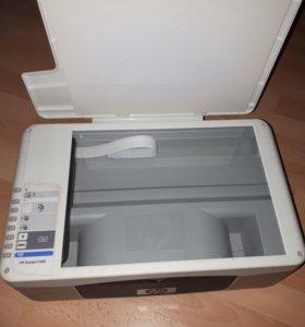 Монитор Dell и мфу НР Deskjet F380