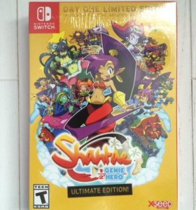 Лимитка Shantae:Day one limited (Nintendo Switch)