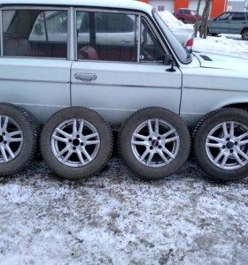 Комплект зимних 14х колес на литье