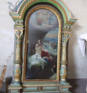 Храмовая икона Рождество
