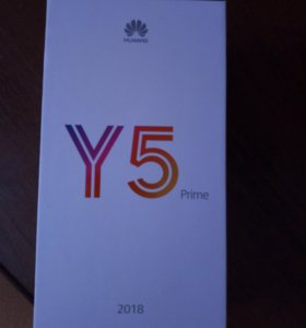 Huawei y5 prime2018