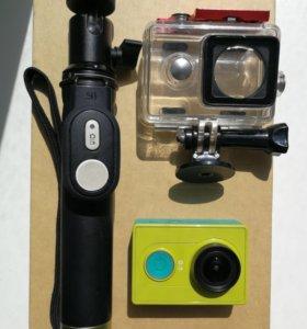 Экшен-камера XIAOMI YI с допами