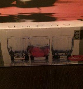 Новый набор стаканов, 6 шт.
