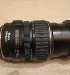 Объектив Canon 28-135мм