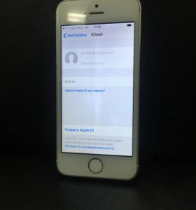 iPhone 5s Silver 12Gb