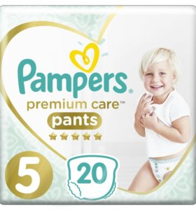 Трусики Pampers Premium Care Pants 5 12-17кг 20шт