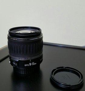 Объектив Canon EFS 18-55mm