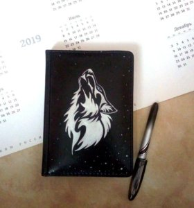 Ежедневник с ручной росписью