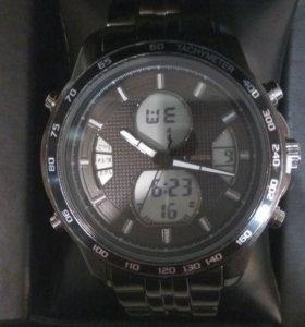 Новые часы steve madden, 2е в одном, металлические