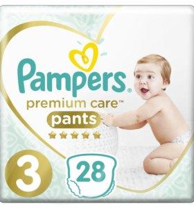 Трусики Pampers Premium care 6-11кг 28шт