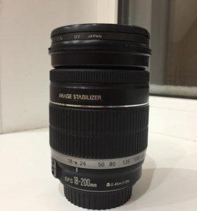 Объектив Canon EFS 18-200 mm