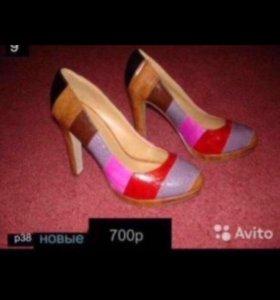 Туфли женские б/у и новые!