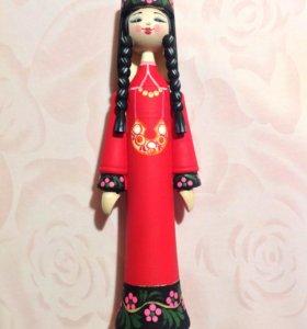 Сувенирная кукла (новая, в упаковке)