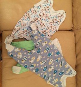 Ползунки для новорождённых