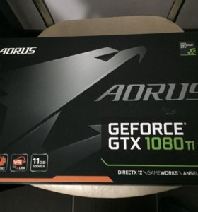 Видеокарта Gigabyte aorus GeForce GTX 1080 Ti 11Gb