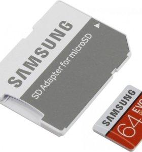 Карта Micro SD SAMSUNG EVO PLUS