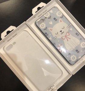 Чехлы на iPhone 7+/8+.