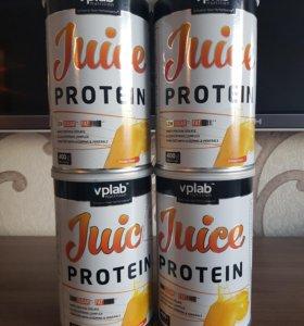 Протеиновый напиток Juice Protein от vplab 0.4кг