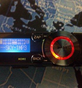 Mp3 плеер чёрный с USB, диктофоном, радио