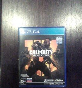 Игра для PS4 Call of Duty Black ops 4