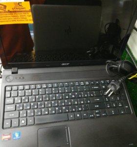Ноутбук acer 5552g