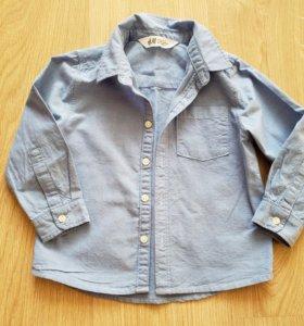 Рубашка на мальчика H&M р.98