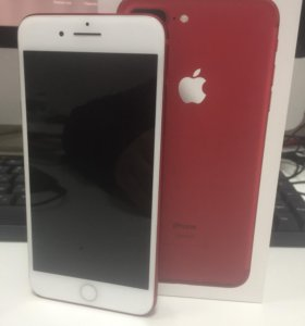 iPhone 7 Plus. Red. 128. Красный. 128. Оригинал.