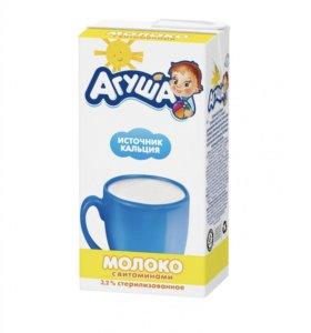 Молоко Агуша 2,5%