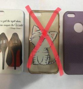 Чехлы-бамперы для IPhone 5s