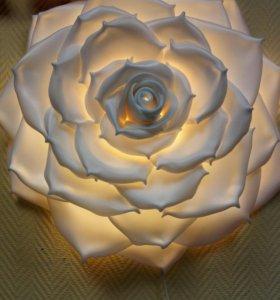 Ростовые цветы, светильники,