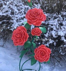 Ростовые розы светильник