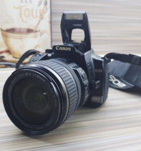 Canon 400D+ Canon 17-85mm